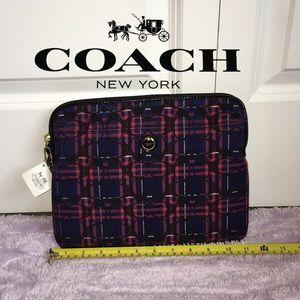 Coach Laptop/Tablet Sleeve! NWT!!!
